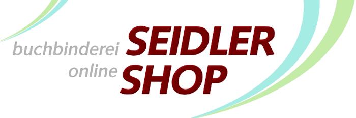 Buchbinderei Seidler Online Shop